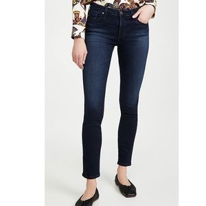 AG Prima Mid Rise Cigarette Contour360 Jeans